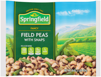 Springfield® Fancy Field Peas with Snaps 16 oz. Bag