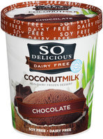 So Delicious® Dairy Free Coconut Milk Chocolate Non-Dairy Frozen Dessert 1 qt. Tub