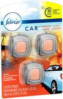 Febreze CAR Vent Clip Hawaiian Aloha Air Freshener (3 Count, 0.20 oz)