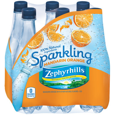 Zephyrhills® Sparkling Mandarin Orange Natural Spring Water