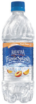 Aquafina® FlavorSplash® Peach Mango Water Beverage 20 fl. oz. Plastic Bottle