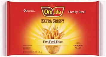 Ore-Ida Fast Food Fries Extra Crispy French Fried Potatoes 52 Oz Bag