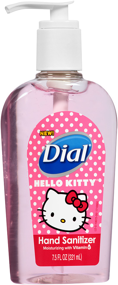 Dial® Hello Kitty Moisturizing Hand Sanitizer 7.5 fl. oz. Bottle
