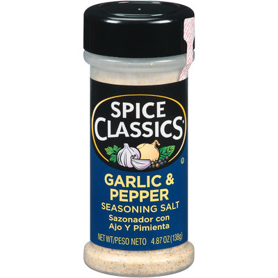 Spice Classics® Garlic & Pepper 4.87 oz. Shaker