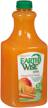 Earth Wise® Orange Carrot Mango Fruit Juice Beverage 59 fl. oz. Bottle