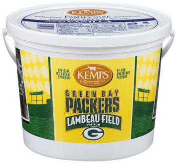 Kemps® Green Bay Packers Vanilla Ice Cream 1.03 Gal Pail