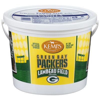 Kemps® Green Bay Packers Vanilla Ice Cream 1.03 Gal Pail