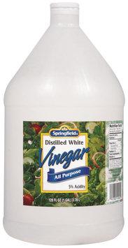 Springfield White Distilled All Purpose Vinegar 128 Oz Jug