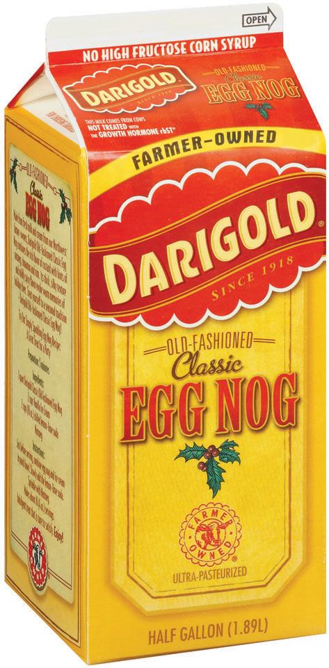 Darigold Old-Fashioned Classic Egg Nog 64 Fl Oz Carton