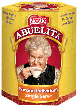 Nestlé ABUELITA Authentic Mexican Hot Chocolate Single Serve Drink Tablets