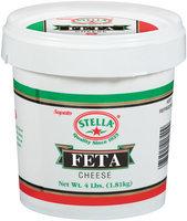 Stella® Feta Cheese 4 Lb Tub