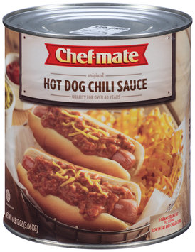 Chef-Mate® Hot Dog Chili Sauce 6.75 lb. Can