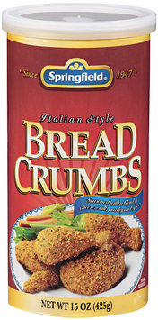SPRINGFIELD Italian Style Bread Crumbs