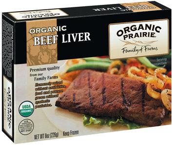 Organic Prairie Organic Frozen Beef Liver 8 Oz Box