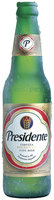 Presidente Pilsner Type Beer Cerveza 12 Oz Glass Bottle