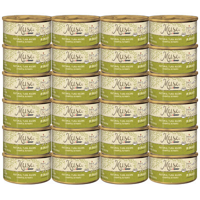 Muse by Purina Natural Tuna Recipe in Gravy Cat Food 3 oz. Can