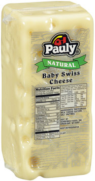 Pauly® Natural Baby Swiss Cheese