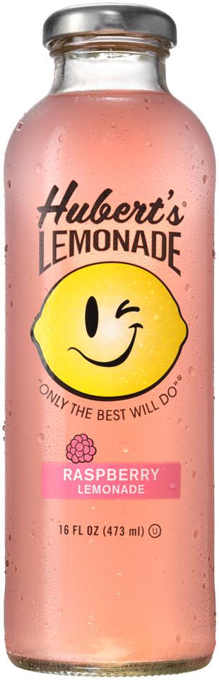 Hubert's® Raspberry Lemonade 16 fl. oz. Bottle