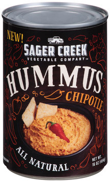 Sager Creek Vegetable Company™ Chipotle Hummus 16 oz. Can