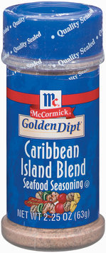 Golden Dipt Caribbean Island Blend Seafood Seasoning 2.5 Oz Plastic Bottle