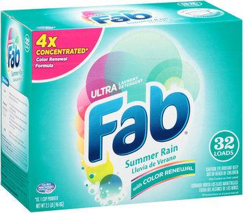 Fab® Ultra Summer Rain Laundry Detergent 2.1 lb. Box