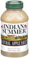 Indian Summer Natural Apple Sauce 48 Oz Plastic Jar