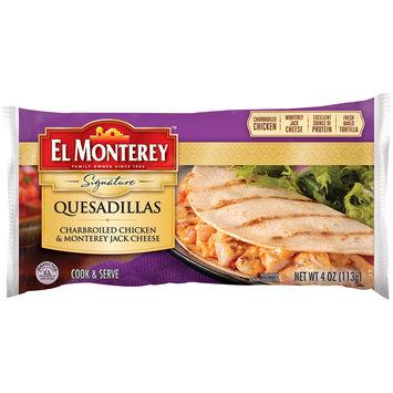 El Monterey™ Signature Charbroiled Chicken & Monterey Jack Cheese Quesadillas 4 oz. Wrapper