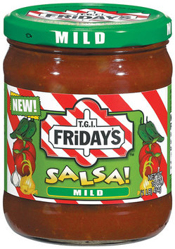 T.G.I. FRIDAY'S Mild Salsa 16 OZ JAR