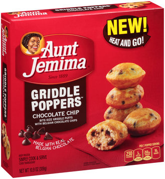 Aunt Jemima® Chocolate Chip Griddle Poppers™ 10.9 oz. Box