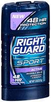 Right Guard® Sport Active Invisible Solid Antiperspirant & Deodorant 1.8 oz. Stick