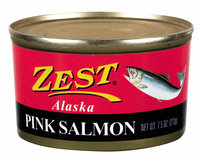Zest Alaska Pink Salmon 7.5 Oz Can