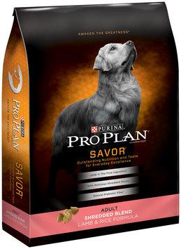 Purina Pro Plan Savor Adult Shredded Blend Lamb & Rice Formula Dog Food 6 lb. Bag