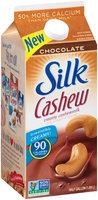 Silk® Chocolate Cashewmilk 0.5 gal. Carton