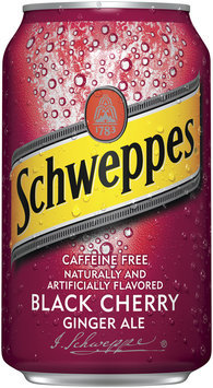 Schweppes Black Cherry Ginger Ale