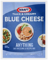Kraft® Thick & Creamy Blue Cheese Dip, Dressing & Recipe Mix 1.25 oz. Packet