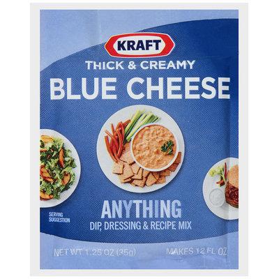 Kraft® Thick & Creamy Blue Cheese Dip, Dressing & Recipe Mix 1.25 oz. Packet
