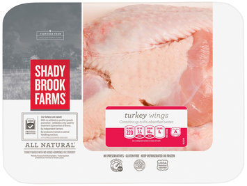 Shady Brook Farms® Turkey Wings 2.35 lb. Tray
