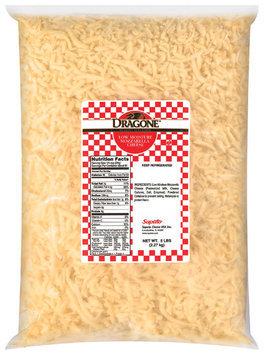 Dragone® Mozzarella Low Moisture Shredded Cheese 5 Lb Bag