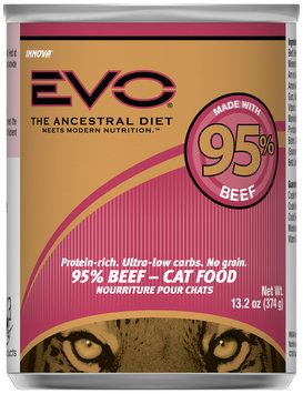 Evo® 95% Beef Cat Food 13.2 oz. Can