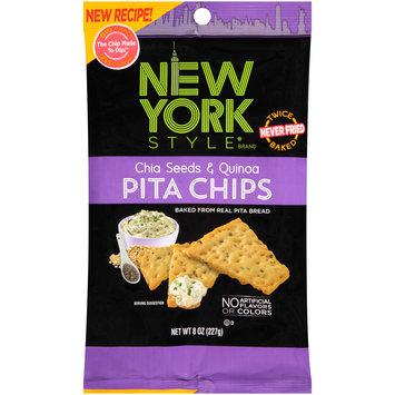 New York Style® Chia Seeds & Quinoa Pita Chips 8 oz. Bag