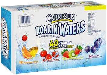Capri Sun® Roarin' Waters Flavored Water Beverage Variety Pack 40-6 fl. oz. Pouches