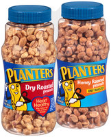 Planters Dry Roasted Peanuts/Honey Roasted Peanuts Jars