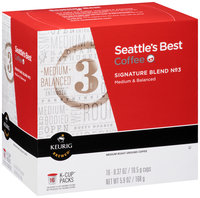 Seattle's Best Coffee™ Medium Signature Blend No 3 Ground Coffee K-Cups 16 ct. Box