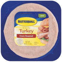Butterball White Lean Oven Roasted Turkey 16 Oz Pack