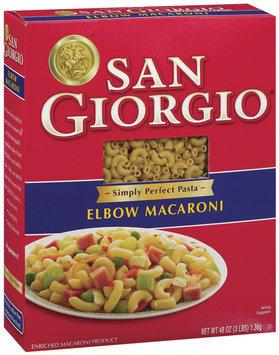 San Giorgio  Elbow Macaroni 48 Oz Box