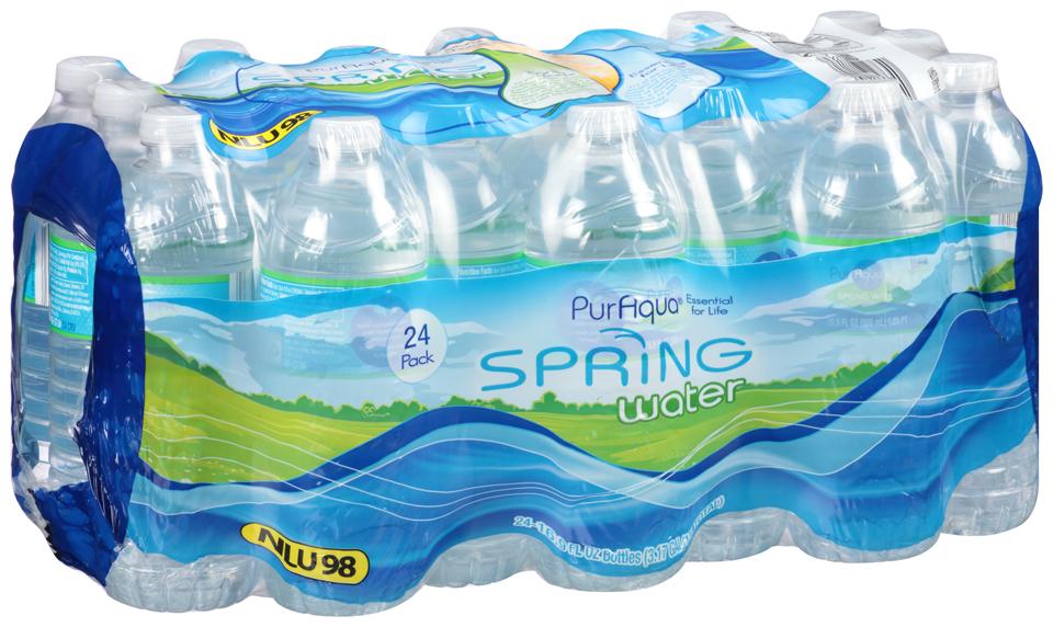 PurAqua® Spring Water 24-16.9 fl. oz. Bottles