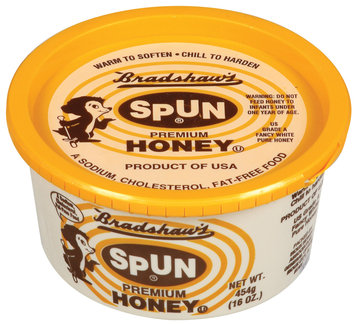 Bradshaw's Spun Premium Honey