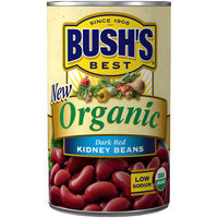 Bush's® Organic Dark Red Kidney Beans 15 oz. Can