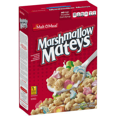 Malt O Meal® Marshmallow Mateys® Cereal 17.3 oz. Box