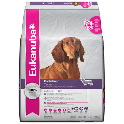 Eukanuba Adult Dachshund Formula Premium Dog Food 14 lb. Bag